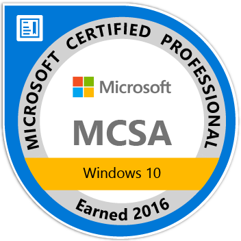 MCSA_Windows_10