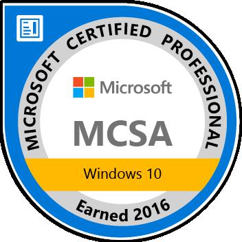 MCSA_Windows_10