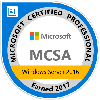 MCSA_Windows_Server_2016