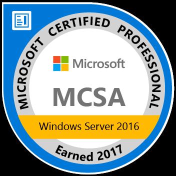 MCSA_Windows_Server_2016